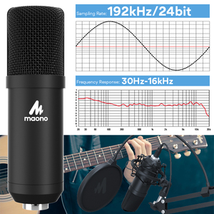 Image 5 - MAONO A04Plus USB Microphone Cardioid Condenser Podcast Microfono 192kHz/24bit Plug and Play With for Livestreaming YouTube ASMR