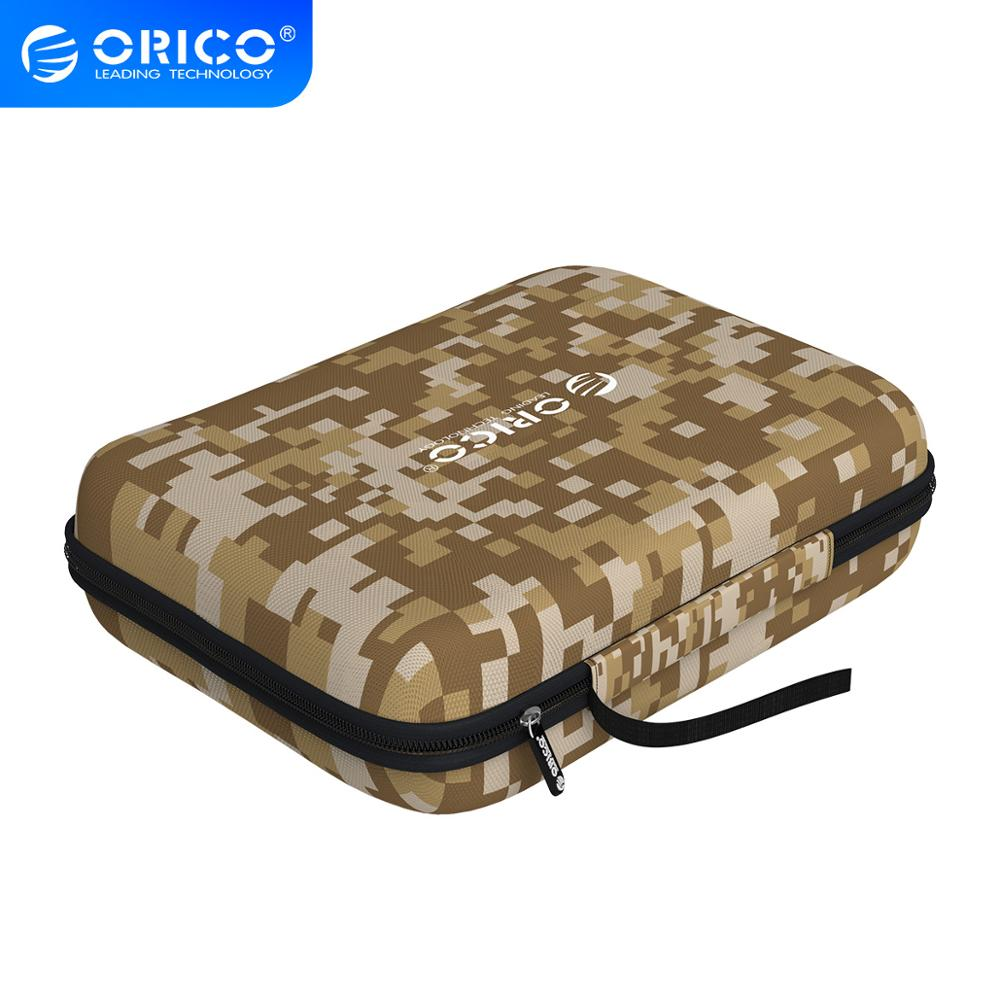 """ORICO HDD Protective Bag for 2.5 3.5"""" HDD Enclosure EVA Waterproof Hard Disk Drive Case Pouch for HDD Power Bank Hard Drive Bags & Cases    - AliExpress"""
