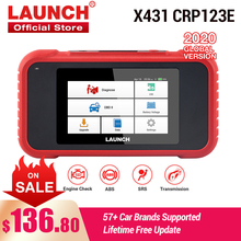 LAUNCH X431 CRP123E OBD2 ENG ABS Airbag SRS AT Auto Diagnostic Tool OBDII Code Reader Scanner free update pk CRP123X  CRP123