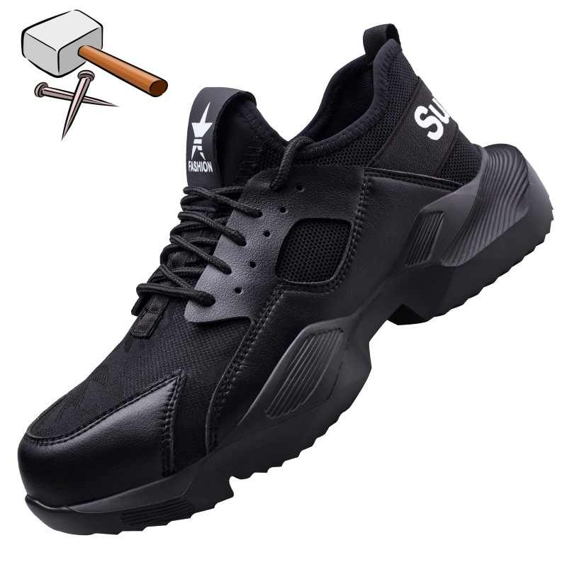 Mens Safety Trainers Lightweight