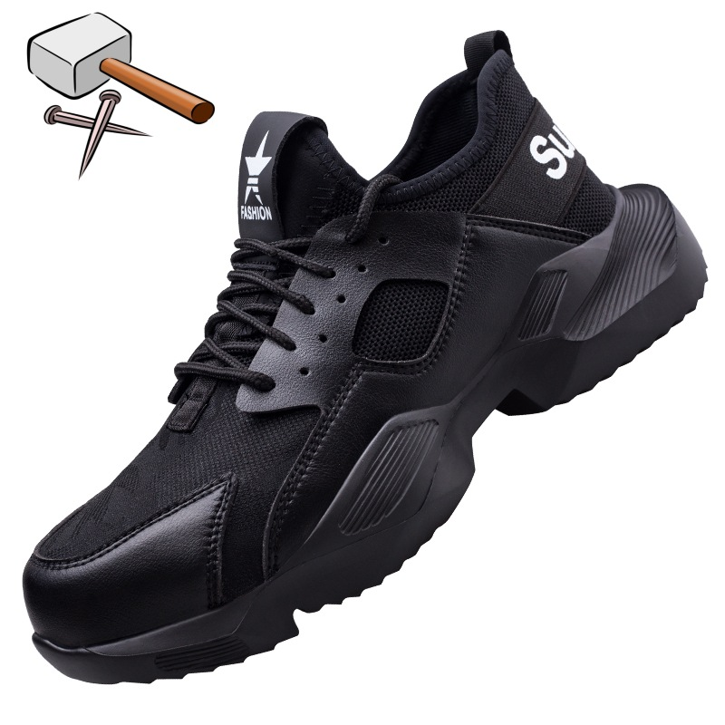 Mens Safety Trainers Lightweight Composite Toe Cap And Kevlar Midsole Work Boots Shoes Hiker Extra Grip