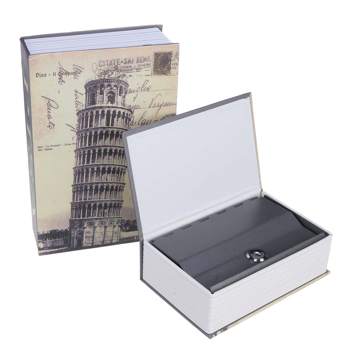 Steel Security Locker Money Secret Security Safe Box Lock Box Book Cash Coin Storage Jewelry Key Locker Storage Container