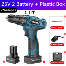 25V Coredrill drill hand drilling Concrete Bricks 16.8V electric screwdriver Tighten screws Impact drill driver power tools