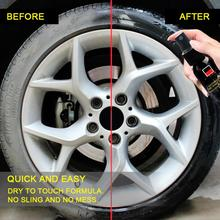 30LM Auto Car Wheel Cleaner Tire Cleaning Agent Tire Polish Cleaning Tool Magic Car Wash Maintenance Tyre Gloss Car Accessories