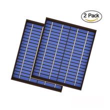 2 adet x 20 watt güneş paneli 18V 20W 1.1A Mini PET polikristal PV modülü hücre şarj için 12V pil şarj cihazı 20Watt W Watt