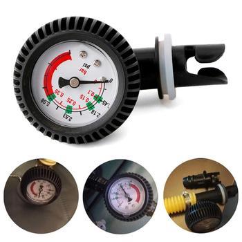 Barómetro con indicador de presión de aire para bote inflable, inflador de...