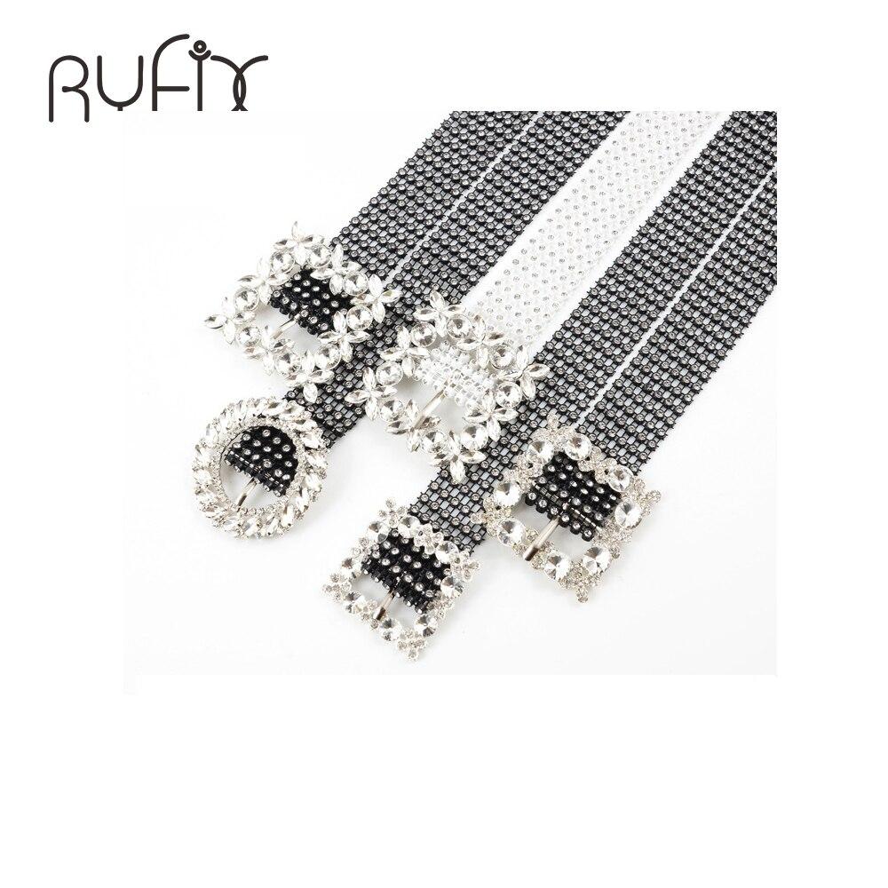 Brilliant Women's Belt Waist Chain Full Diamond Rhinestone Crystal Belt Luxury Small Party Waist Belt BL598