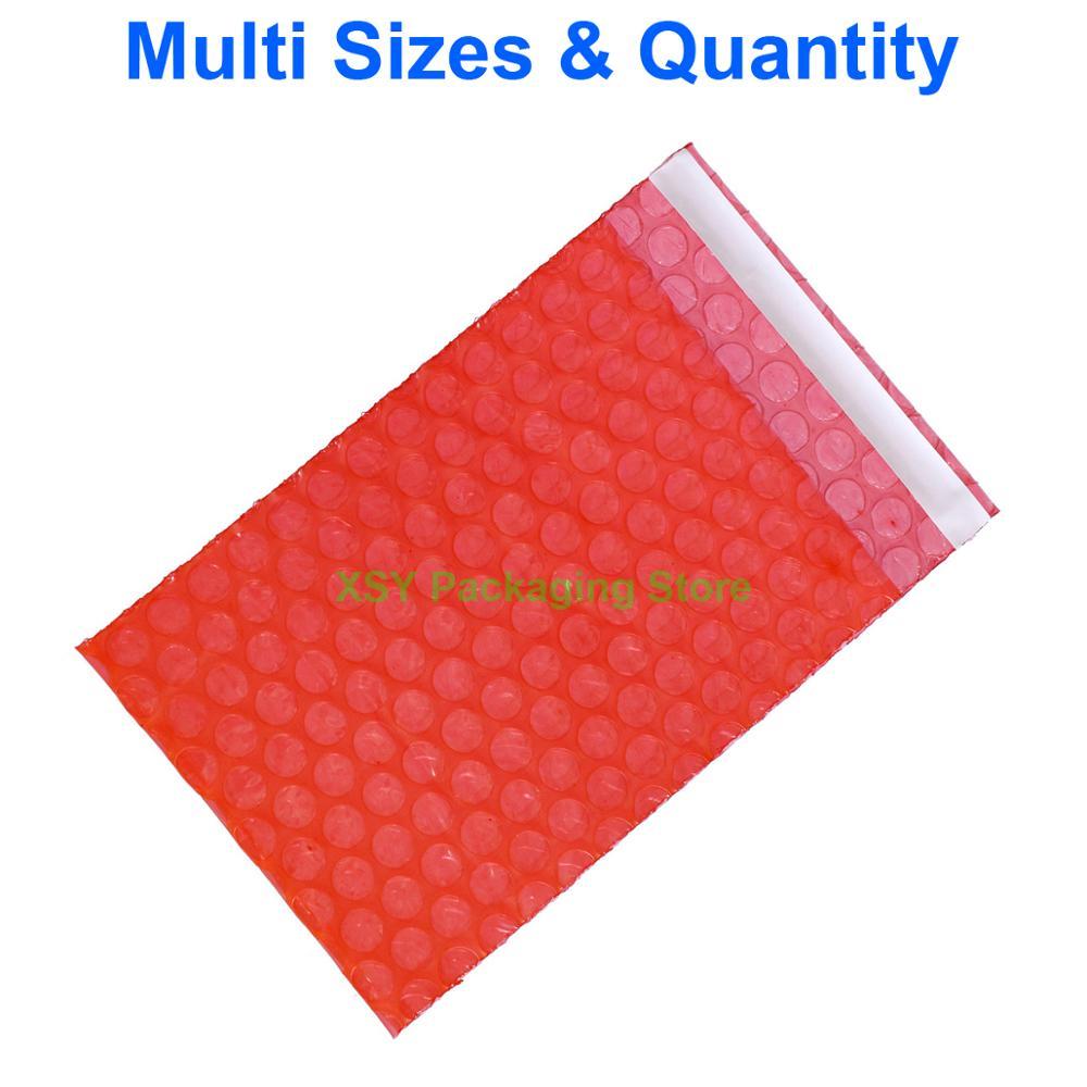 """Самозапечатывающийся антистатический пузырьковый пакет электронная упаковка (ширина 2,5 """"-6,7"""") x (длина 3 """"-8,7"""") eq. (65-170 мм) x (80-220 мм)"""