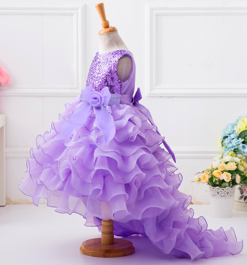 Europe And America Hot Selling Girls Princess Dress CHILDREN'S Dress Upper Body Sequin Tutu Dress Manufacturers Wholesale