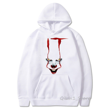 IT movie Cap Hoodies Men Women sweatshirt stephen king High Quality Clown pennywise loser lover unisex halloween Custom Hoodie