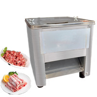 Jamielin Home Electric Stainless Steel Meat Cutting Machine Meat Cutter Slicer Dicer Meat Strip Cooked Meat Cutting Machine