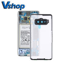 Phone Replacement Part Transparent Back House Cover with Camera Lens Cover for Samsung Galaxy S10e/G970F/DS G970U G970W SM-G9700