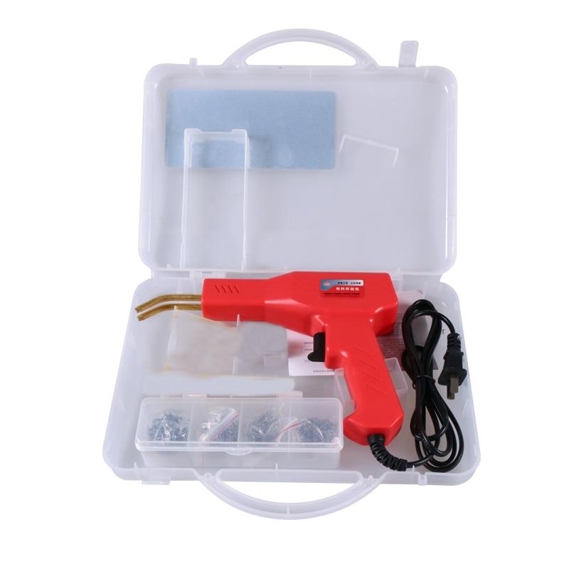 110-220V Plastic Welder Garage Tools Hot Staplers Machine Staple PVC Repairing Machine Car Bumper Repair Welding Gun Hot Stapler
