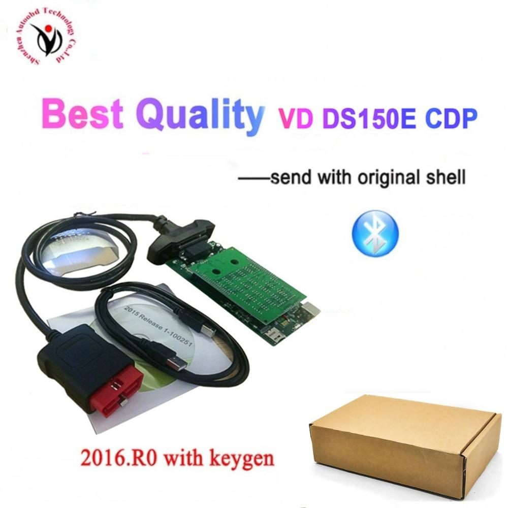 30pcs/lot DHL Free V8.0 PCB Board For <font><b>VD</b></font> <font><b>DS150E</b></font> CDP For <font><b>VD</b></font> TCS CDP Pro Plus OBD Scanner Bluetooth Diagnostic Tool image