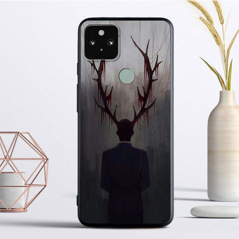 Hannibal Luxury Phone Case For Google Pixel 4 XL Fandas For Pixel 5 4A 4G 4A 5G Soft TPU Coque Back Cover Luxury Casing Shell