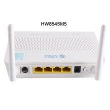20 unids/lote nuevo gpon onu 1 potes 1ge 3fe FIBRA DE WiFi USB ont HG8545m Gpon 1ge onu sin adaptador de corriente