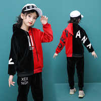 Children Clothing Sets Toddler Clothes 2019 Winter Kids Sport Suits Girls Clothes Sets Long Sleeve Tracksuits For Girls Costumes