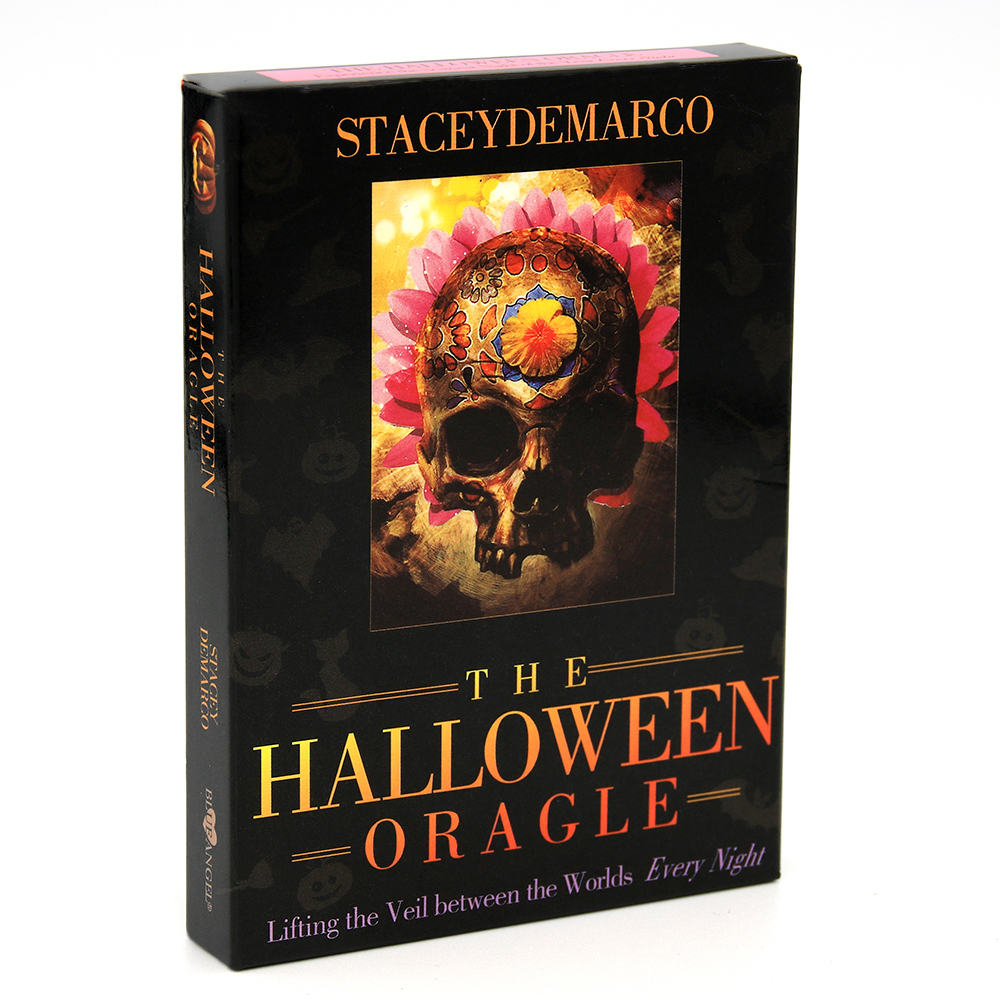 The Halloween Oracle Lifting The Veil Between The Worlds Every Night Cards Stacey Demarco Divination Magical And Scary Tradition