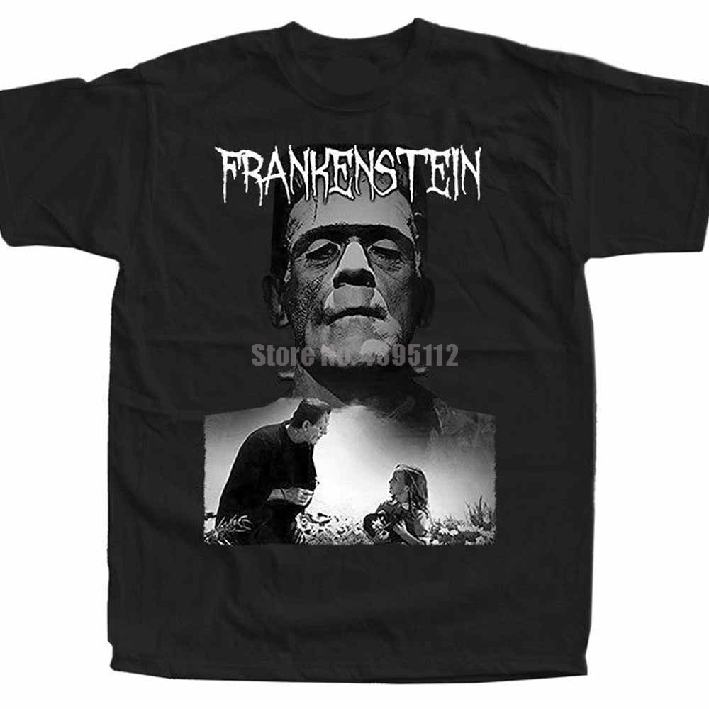 Frankenstein Movie Poster Youth 3D Print Shirts Motorcycle T-Shirts Oversize Shirt Personalized Shirts Bull Terrier Gqrhqp image