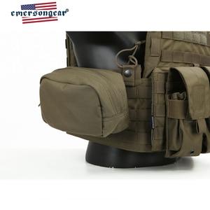Image 5 - Emersongear LBT6094A styl kamizelka taktyczna płyta przewoźnik W 3 woreczki 762 5.56 Airsoft wojskowy armia biegów Ranger zielony pancerz kamizelka