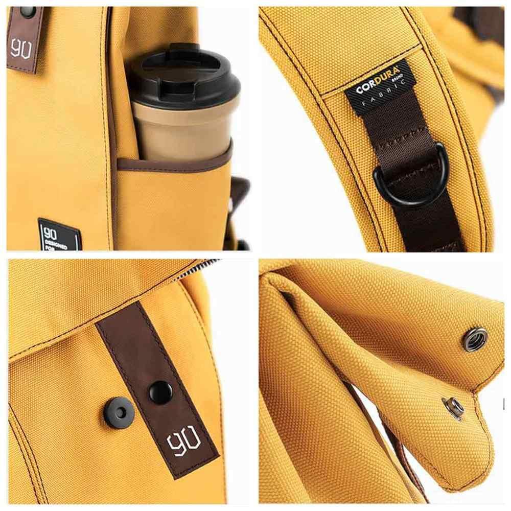 NINETYGO 90Fun kolej genç dizüstü sırt çantası moda eğlence su geçirmez sırt çantası Unisex rahat bilgisayar okul çantası 15.6 inç
