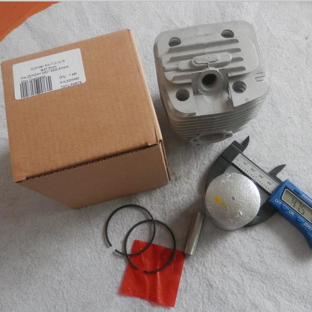 G620 CYLINDER KIT 47.5MM 48MM FOR KOMATSU ZENOAH G620PU G621  62CC CHAINSAW RC ZYLINDER  PISTON RINGS SET PIN CLIPS  ASSEMBLY