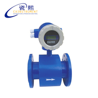D25 flange connection 1 10 m3/H flow range and LCD Display flow meter welding