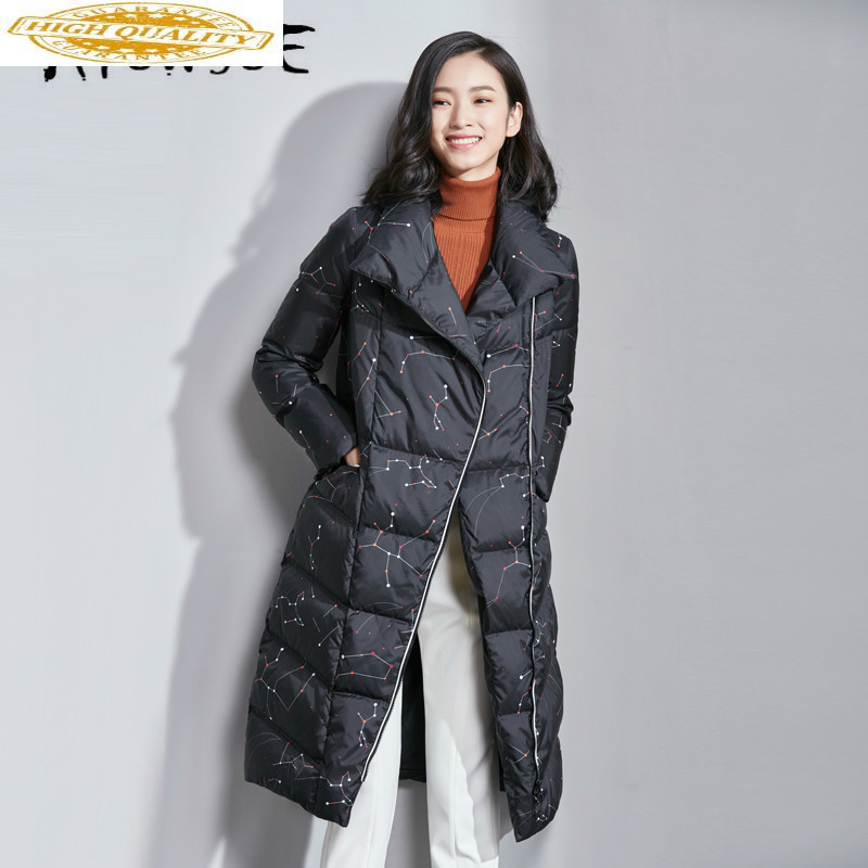 90% White Duck Down Jacket Women Clothes 2019 Winter Coat Women Korean Puffer Jacket Women Warm Parka VIM17D5052 YY1997