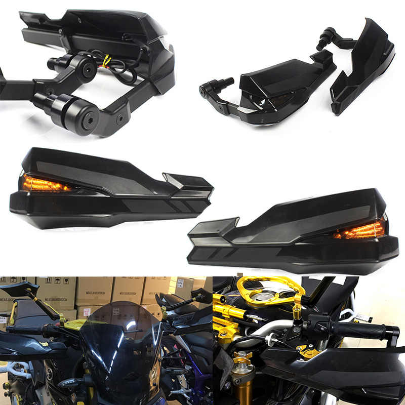 ZR900 MT-07 MT-09 Accessories Motorcycle Black Handguard Handlebar Hand Brush Guard Brake Clutch Shell Protector for Kawasaki Z900 Yamaha FZ MT 09 07 MT07 MT09 XSR 900 700 2019 Fulfilled By