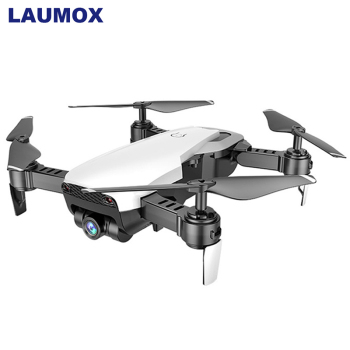 LAUMOX M69G RC Drone with Camera HD 1080p Optical Flow Localization FPV Selfie Dron Foldable Quadcopter One Key Return Drones