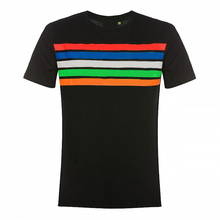 2019 Moto gp racing Motorcycle T-shirt Doctor Summer off-road Racing Colorful line Mens Fabric Short-sleeved