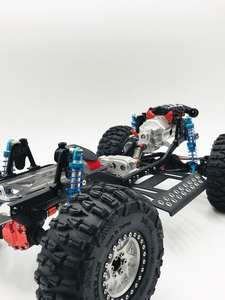 Metal-Frame-Chassis Assembled SCX10 Rc Crawler 90047-Upgrade 313mm 90046 New for 1/10