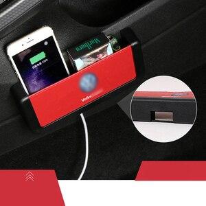 Модная новая автомобильная сумка для хранения многофункциональный универсальный мобильный телефон коробка для хранения для volkswagen polo golf 3 4 ...