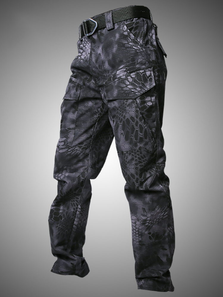 Image 5 - Mege Military Tactical Cargo pants Male Casual Trousers 