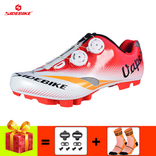 SIDEBIKE mountain bike shoes men sapatilha ciclismo mtb cycling sneakers breathable self-locking Athletic riding bicycle shoes sidebike men women bicycle cycling shoes outdoor mtb racing athletic shoe breathable mountain bike self locking shoes red