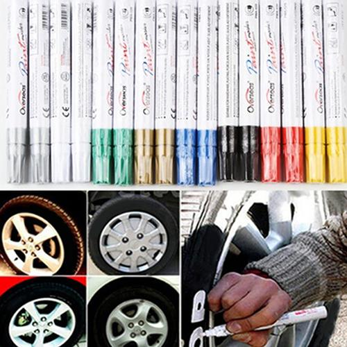 Universal Car Auto Scratch Filler Repair Waterproof Permanent Paint Marker Pen Car Tyre Tire Tread Rubber  Repair Marker Pen