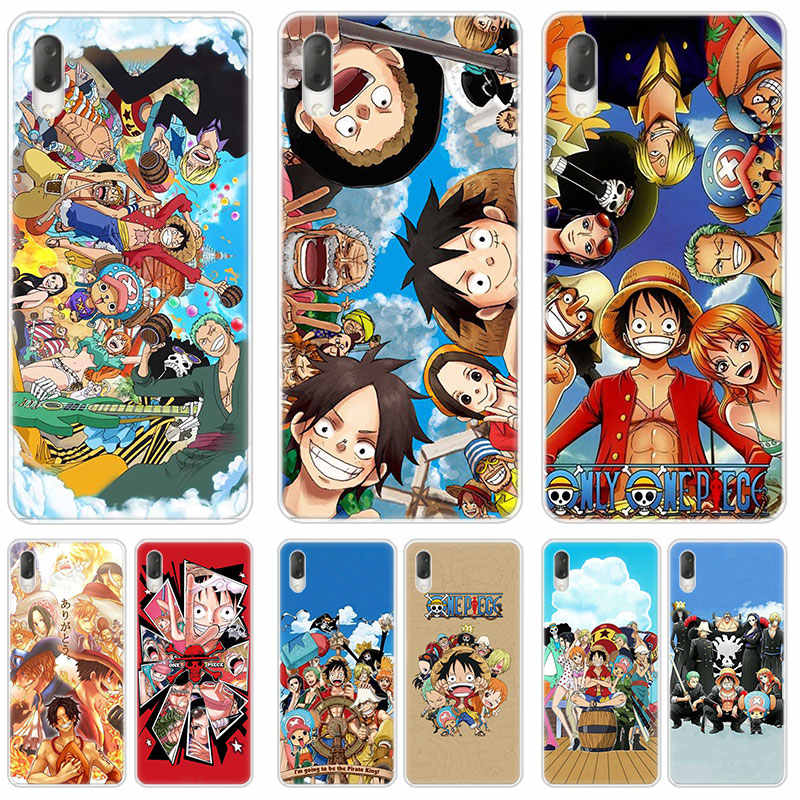 Hot Anime one piece Hard Case For Sony Xperia L1 L2 L3 X XA XA1 XA2 Ultra E5 XZ XZ1 XZ2 Compact XZ3 M4 Aqua Z3 Z5 Premium
