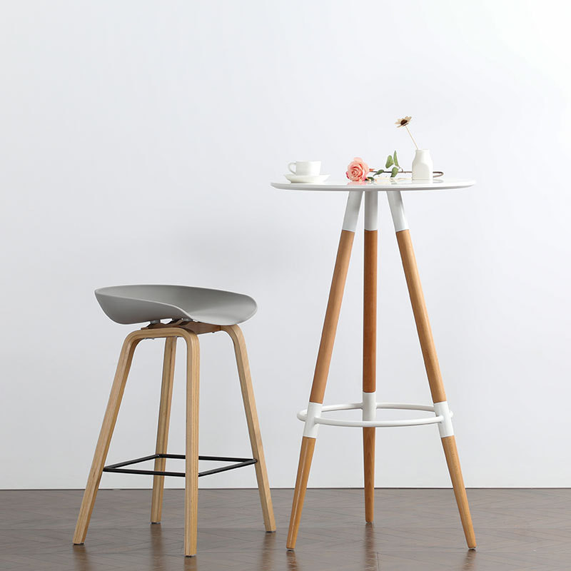 Free Shipping Stool Wood Coffee Side Table Basse Mesa Centro Industrial Furniture Nordic Top Modern Dining Tea Table 2020