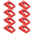 Иглы для проигрывателя виниловых пластинок, 8 шт., алмазные Сменные иглы для проигрывателя виниловых пластинок
