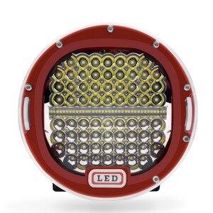 Image 2 - 2 stücke 7 Zoll 300W 5X7 7X6 LED Arbeit Licht Spot Strahl Runde Offroad Fahr Licht Für ATV UAZ SUV 4x4 Lkw Traktor Boot Wrangle
