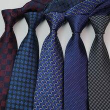 Новый 8 см мужские галстуки галстук плед Пейсли для мужчин Homme Cravate Corbatas Гравате вечернее платье жених галстук свадьба