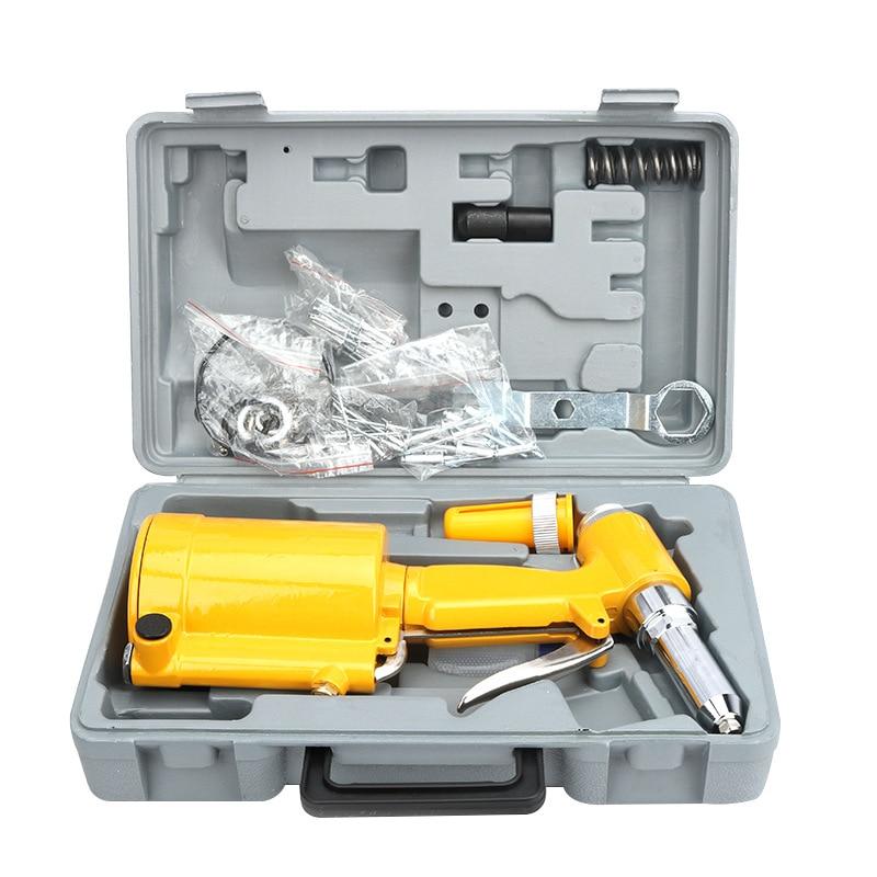 2.4-4.8mm Industrial Air Hydraulic Pop Rivet Gun Pneumatic Riveter Kit Set For Auto Body Work