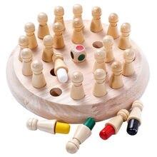 Ahşap bellek kibrit çöpü satranç tahtası oyunu eğlenceli blok kurulu oyunu renkler bellek maç sopa satranç oyunu eğlenceli blok kurulu oyunu