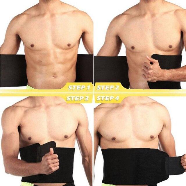 Women Sweat Body Suit Sweat Belt Shaper Premium Waist Trimmer Belt Waist Trainer Corset Shapewear Slimming Vest Underbust 4