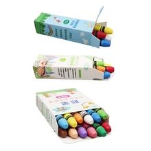 4/6/12 Colors Non Toxic Water Soluble Chalk Drawing Painting for Teacher Kids B36C