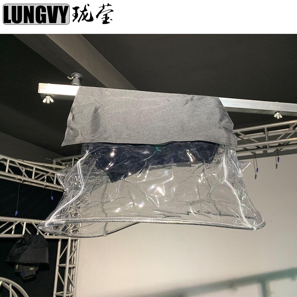 Бесплатная доставка, 4 шт./лот, защита от сценического Света, прозрачный дождевик, водонепроницаемый дождевик, зимний плащ для 5R 7R 15R, движущи...