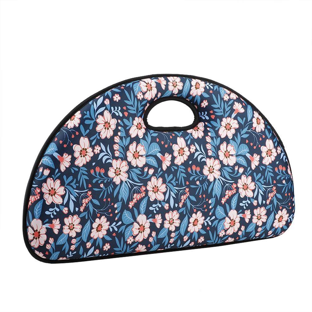 Garden Kneeler Pad Multi Use Kneeling Seat Mat Water Resistant Shock Absorb Memory Foam Cushion