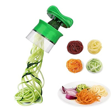 ABS Grater Carrot Potato Cucumber Spiral Grater Cutter Vegetable Fruit Slicer Salad Noodle Spaghetti Zucchini Blade Spiral Tools