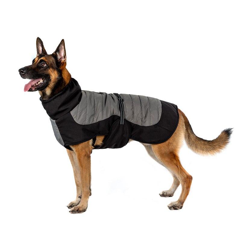 OneTigris K9 الشتاء سترة الرياح/مقاومة للماء معزول الكلب معطف مناسبة للاستخدام في الأماكن المغلقة المشي اليومي والرياضة في الهواء الطلق