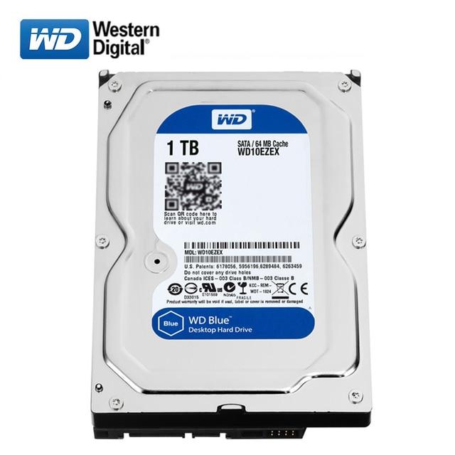"WD 500GB desktop computer 3.5"" internal mechanical hard drive SATA 250/320/500GB 1/2/3/ 4TB 6Gb/s hard drive for Desktop 3"